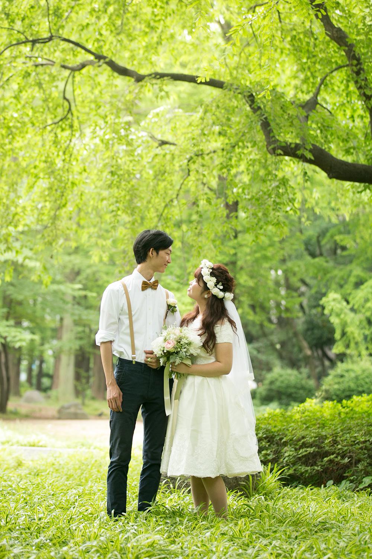靭公園結婚式 emiphoto