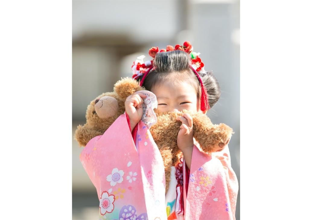 日本髪 七五三 お祝い 撮影