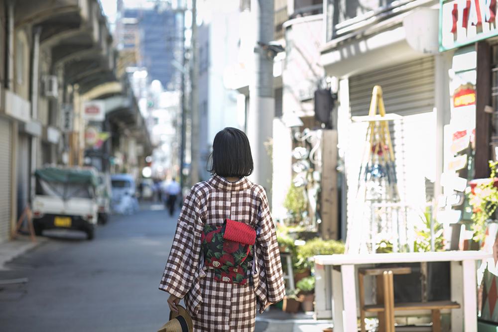 大阪 着物撮影