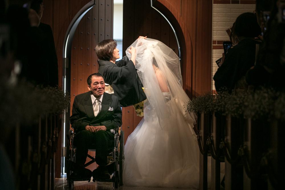 ベールダウン Wedding