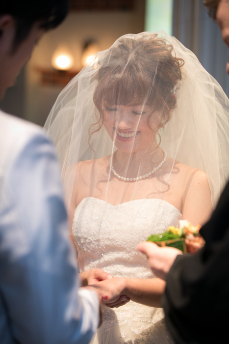 結婚式撮影 リング交換