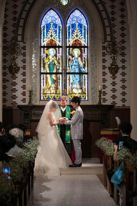 リング交換 Wedding