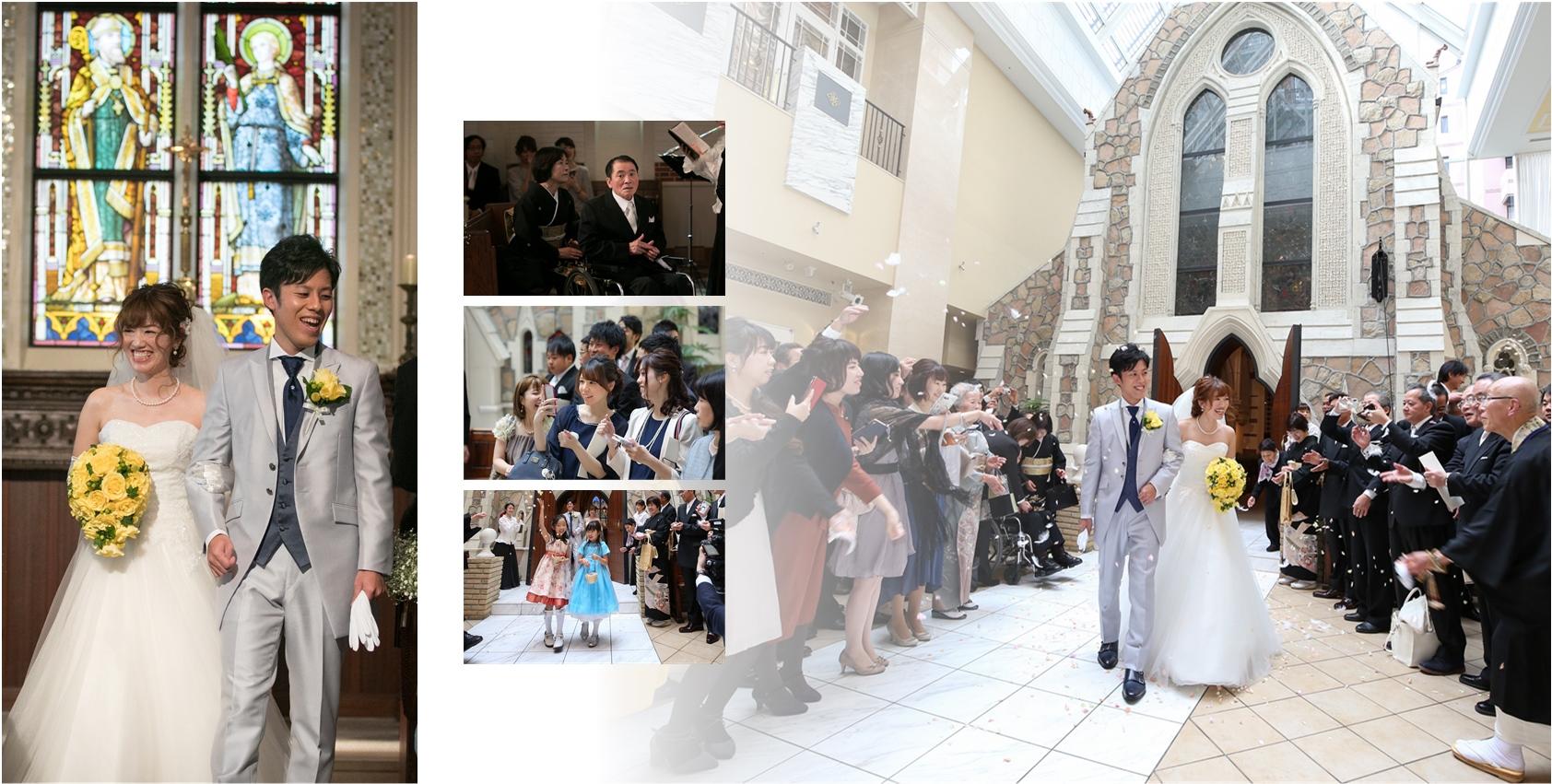 結婚式アルバム作成