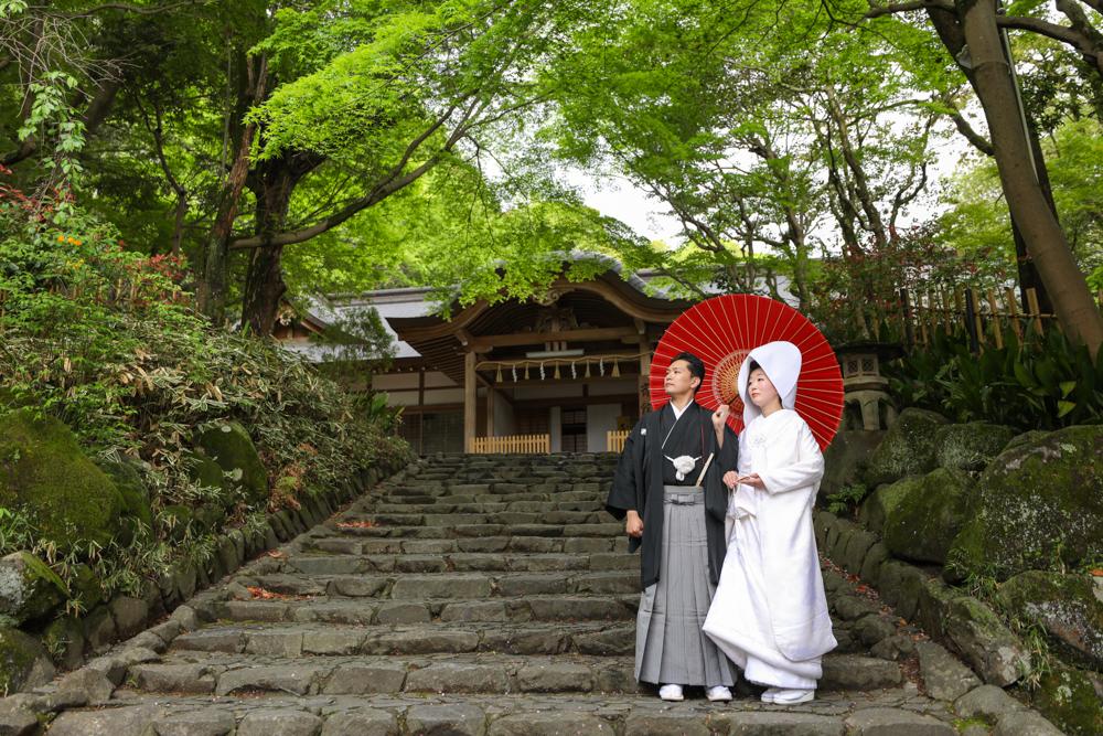 枚岡神社 挙式撮影