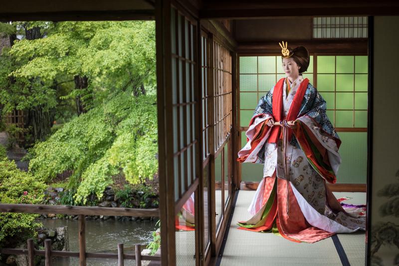 十二単撮影 京都