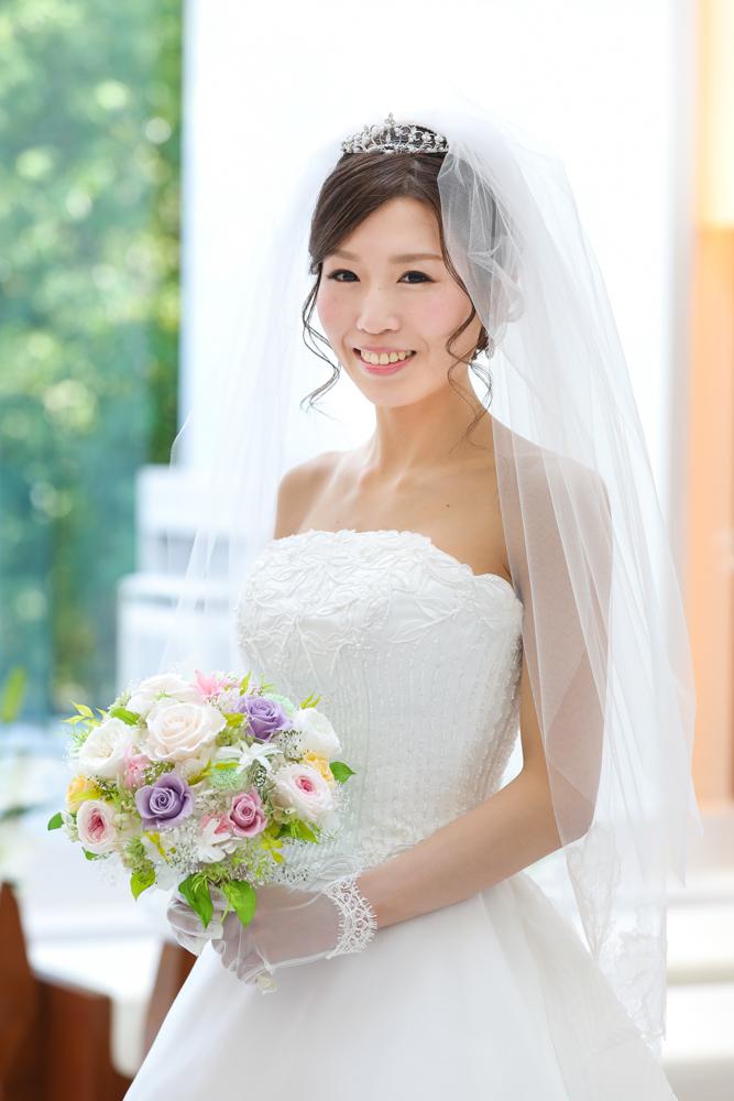 花嫁ウエディングドレス