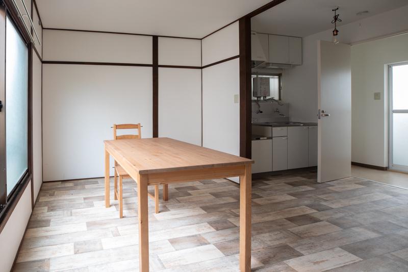 建築撮影キッチン