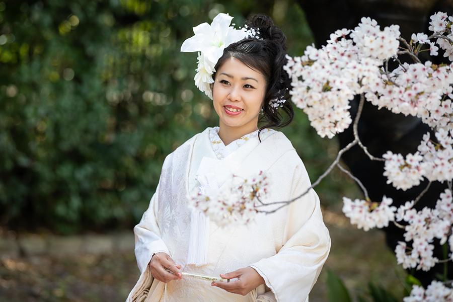 花嫁 白無垢