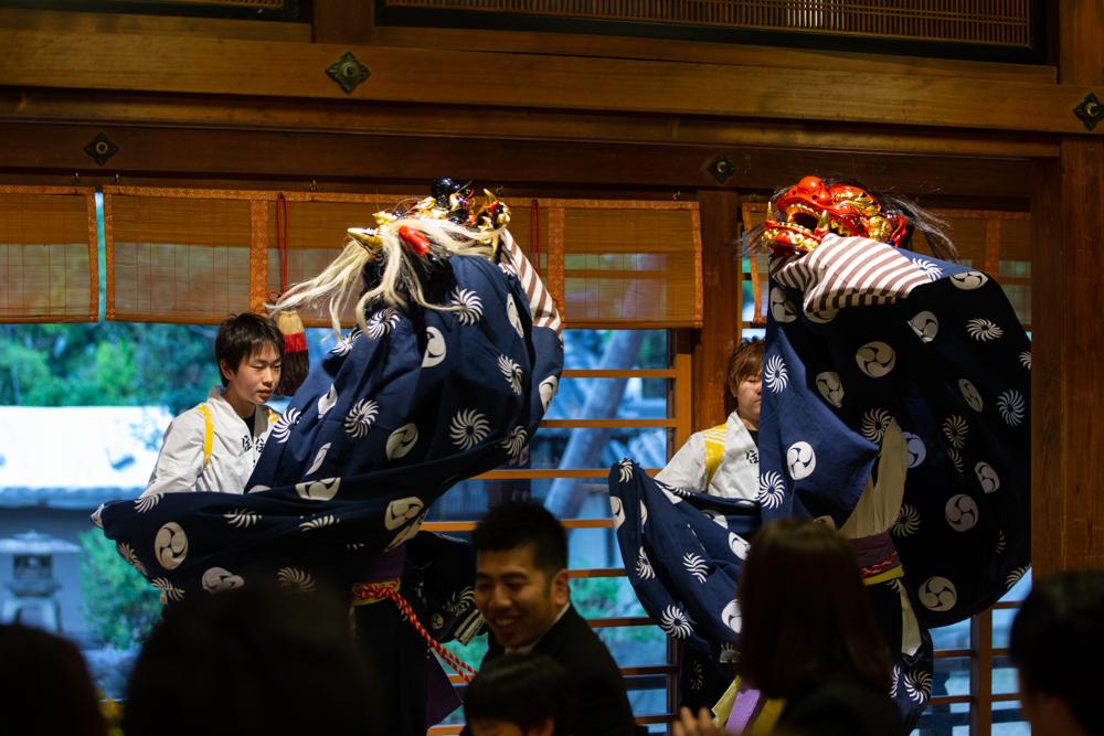 住吉大社 獅子舞