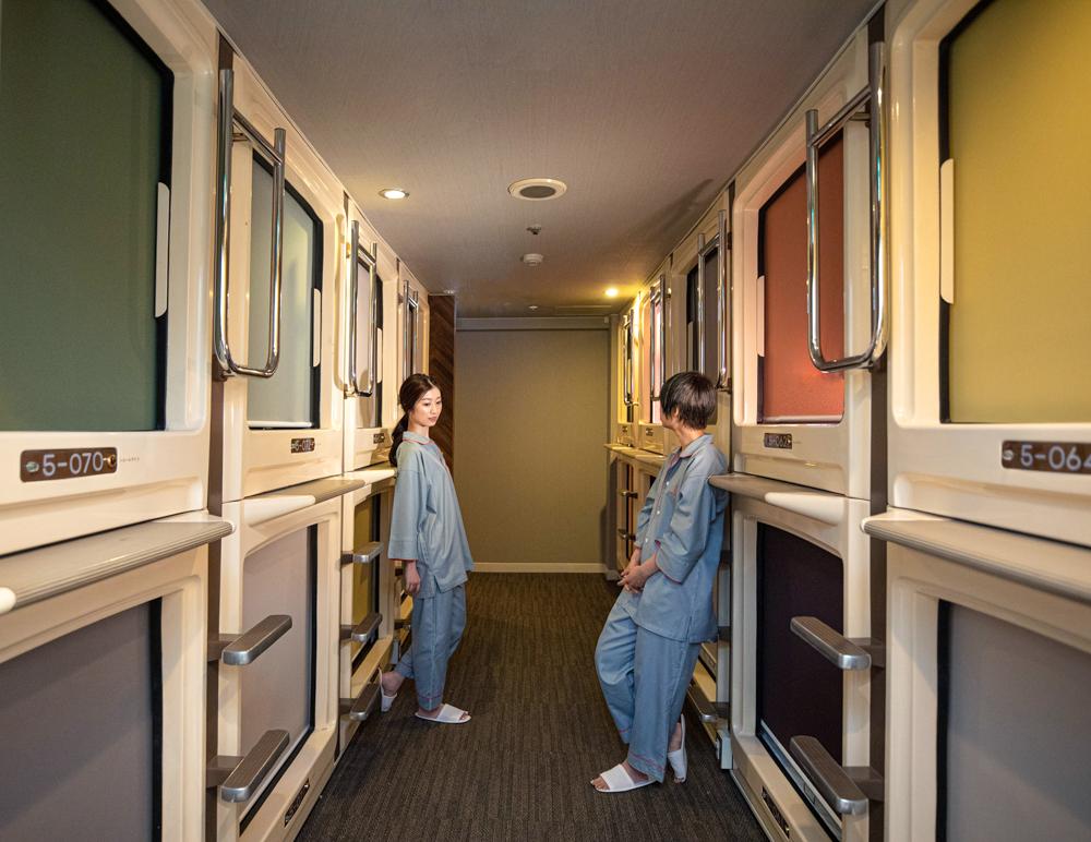 女性向けカプセルホテル 心斎橋