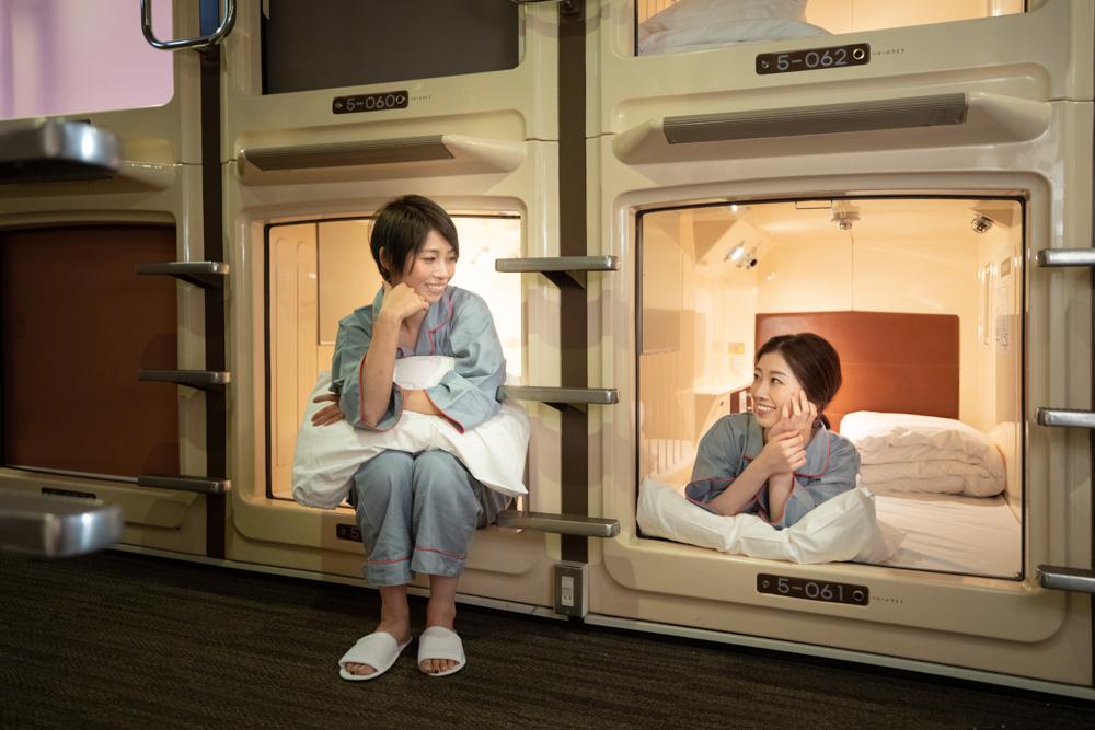 女性用カプセルホテル