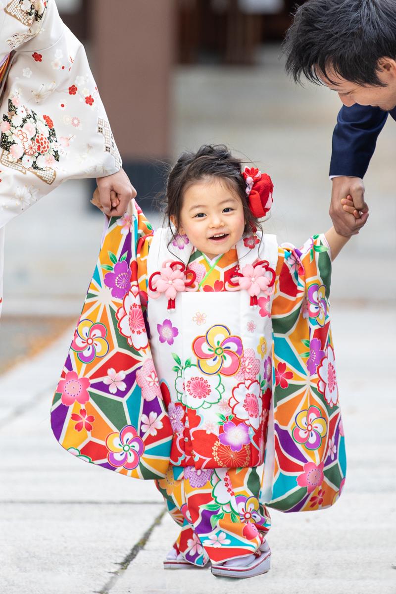 大阪護国神社七五三