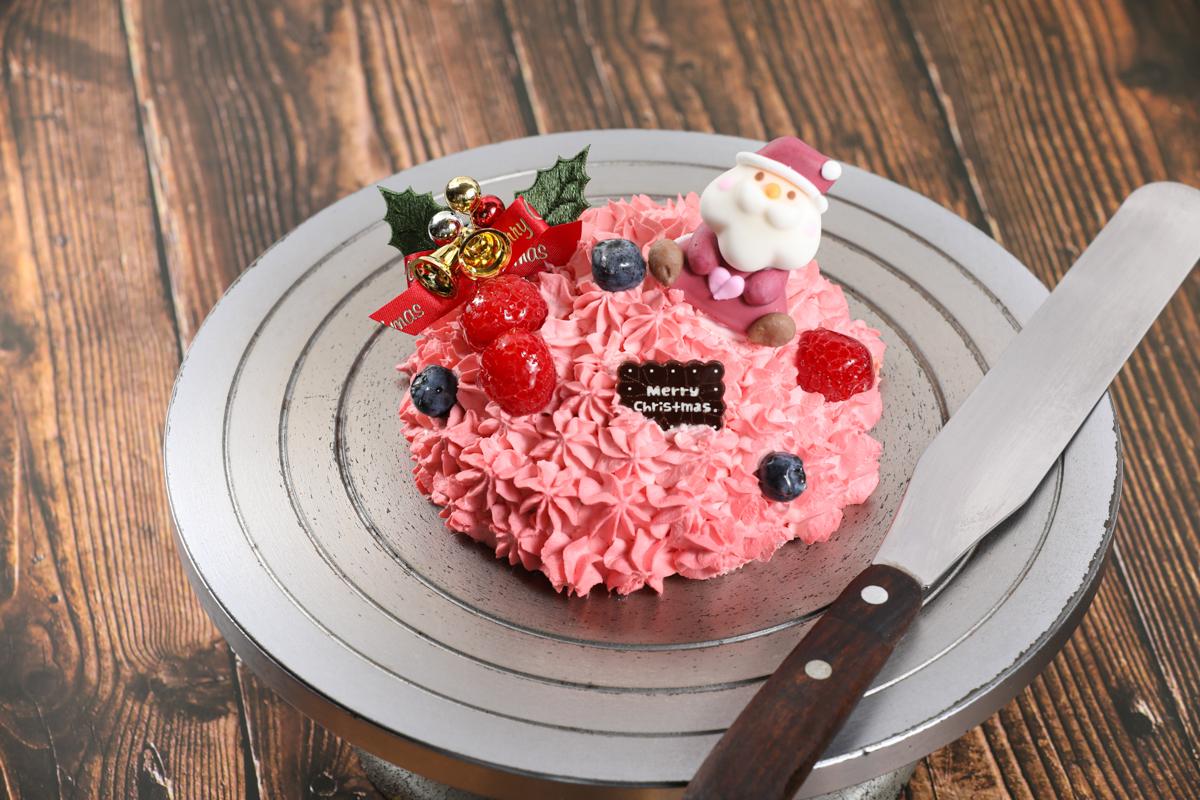 クリームのクリスマスケーキ