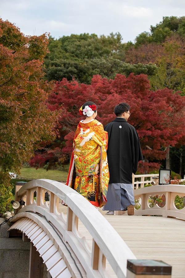 大仙公園 紅葉 前撮り